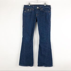 True Religion | 28 | Short Joey Flare Low Rise